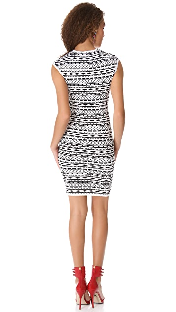 Torn by Ronny Kobo Mandy Tribal Dress