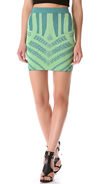 Torn by Ronny Kobo Celine Mosaic Skirt