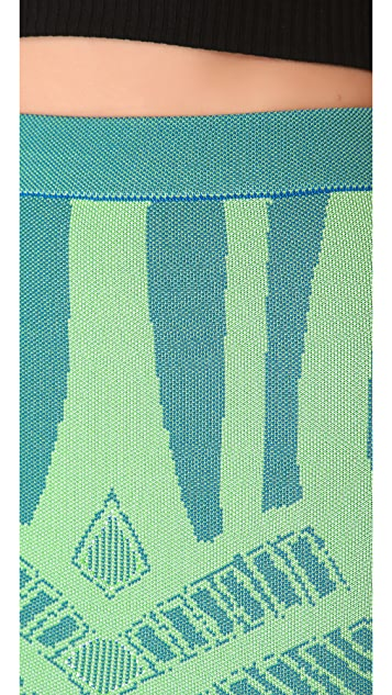 Torn by Ronny Kobo Celine Mosaic Skirt