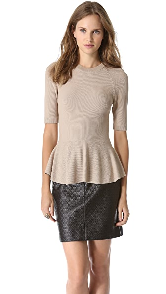 Torn by Ronny Kobo Lala Top Seed Stitch Top