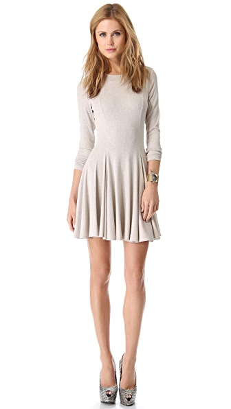 Torn by Ronny Kobo Isabel Rib Dress