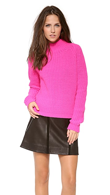 Torn by Ronny Kobo Agnes Cropped Sweater