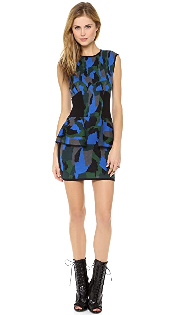 Torn by Ronny Kobo Cora Camouflage Dress