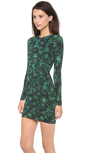 Torn by Ronny Kobo Tara Pleated Dress