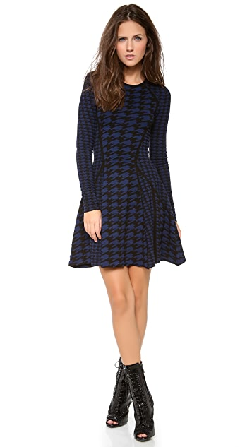 Torn by Ronny Kobo Elizabeth Patchwork Dress