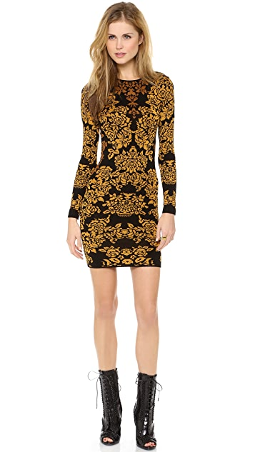 Torn by Ronny Kobo Bouquet Jacquard Mammie Dress