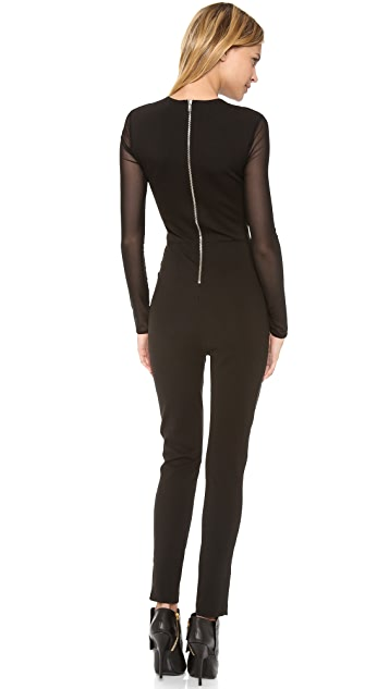Torn by Ronny Kobo Gali Mesh Jumpsuit
