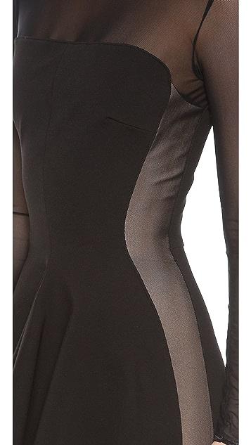 Torn by Ronny Kobo Lima Mesh Dress