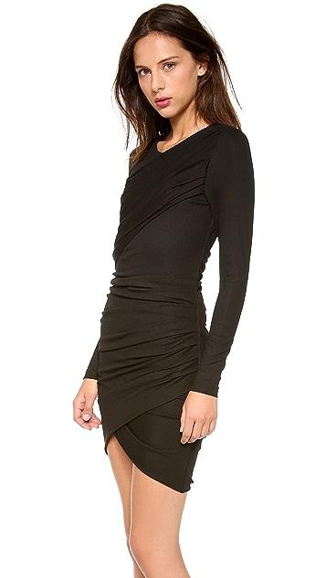 Torn by Ronny Kobo Emma Long Sleeve Dress