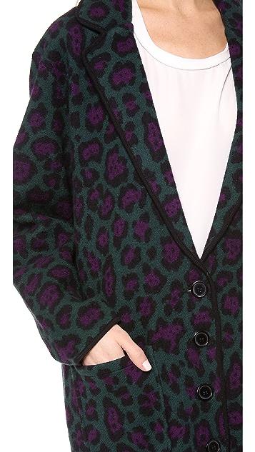 Torn by Ronny Kobo Eugenie Oversized Coat