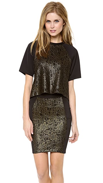 Torn by Ronny Kobo Niva Neoprene Top