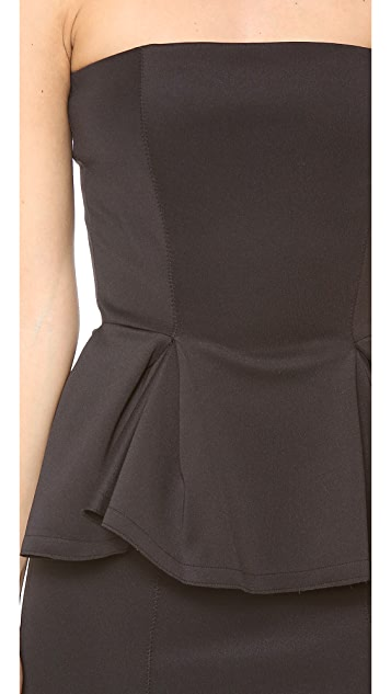 Torn by Ronny Kobo Camille Peplum Dress