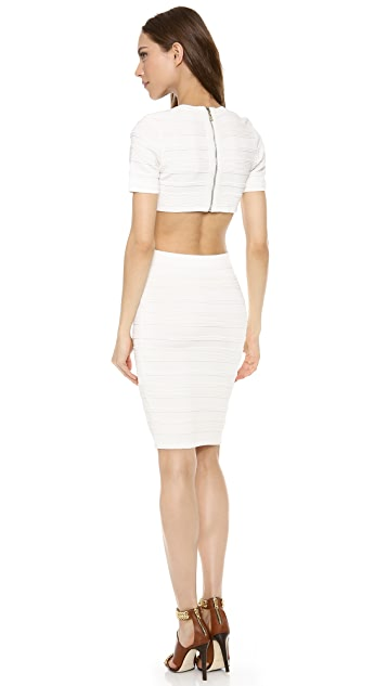 Torn by Ronny Kobo Harlow Short Sleeve Dress