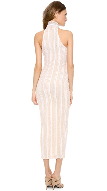 Torn by Ronny Kobo Claudia Long Dress