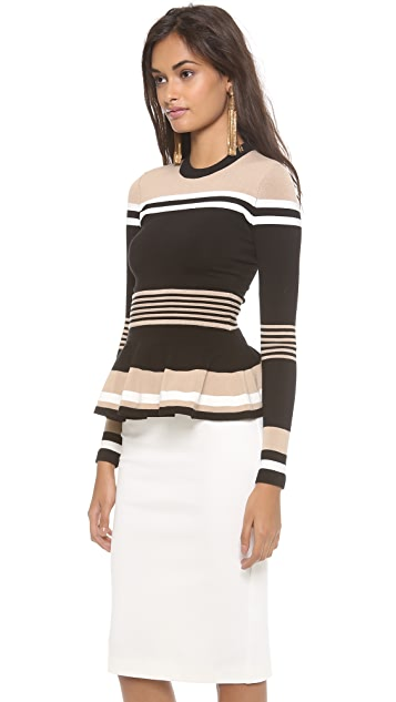Torn by Ronny Kobo Mercedes Long Sleeve Top