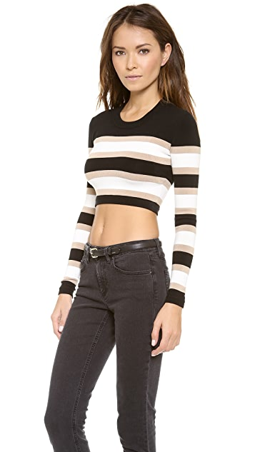 Torn by Ronny Kobo Emma Crop Top