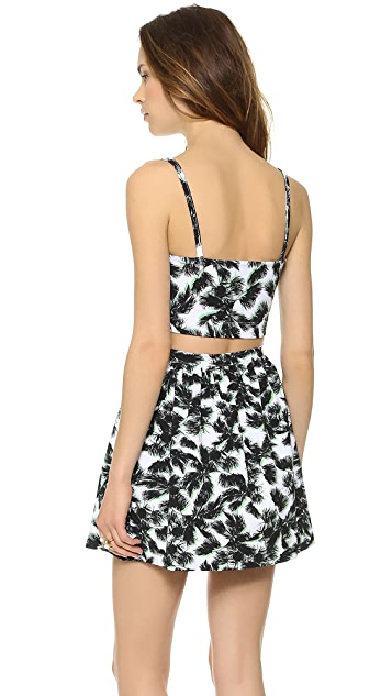 Torn by Ronny Kobo Adira Paradise Crop Top