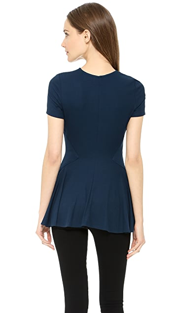 Torn by Ronny Kobo Alaina Short Sleeve Top