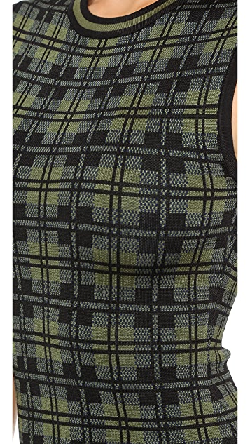 Torn by Ronny Kobo Fal Cabin Plaid Dress