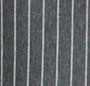 Heather Charcoal Stripe