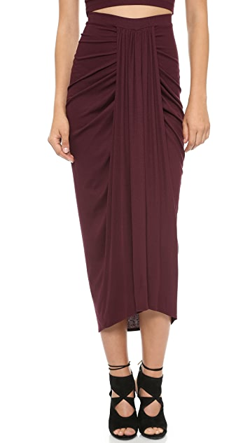 Torn by Ronny Kobo Scarlet Midi Skirt