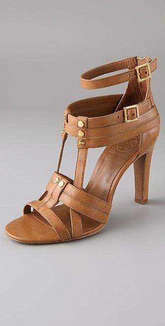 Tory Burch Luke Strappy High Heel Sandals