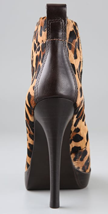 Tory Burch Halima Leopard Booties