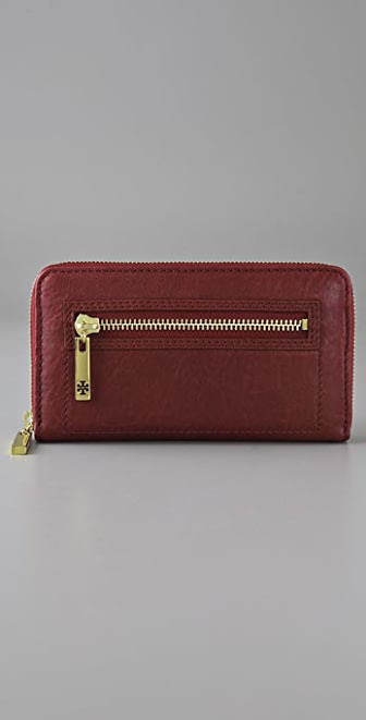 Tory Burch Steffi Zip Continental Wallet