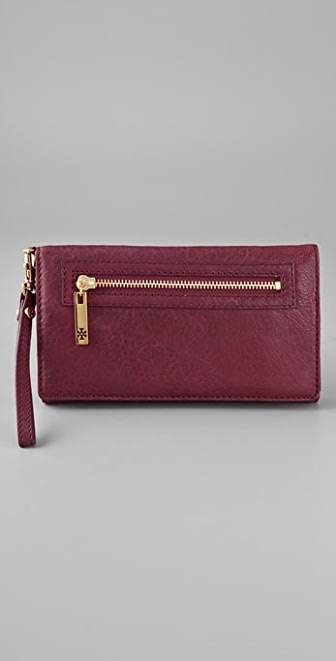 Tory Burch Steffi Fold Over Wristlet
