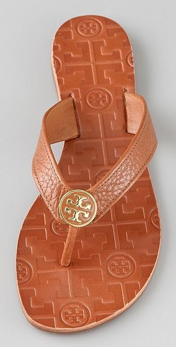 Tory Burch Thora Flat Thong Sandals