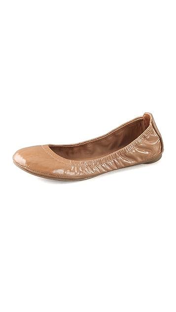 Tory Burch Eddie Patent Ballet Flats