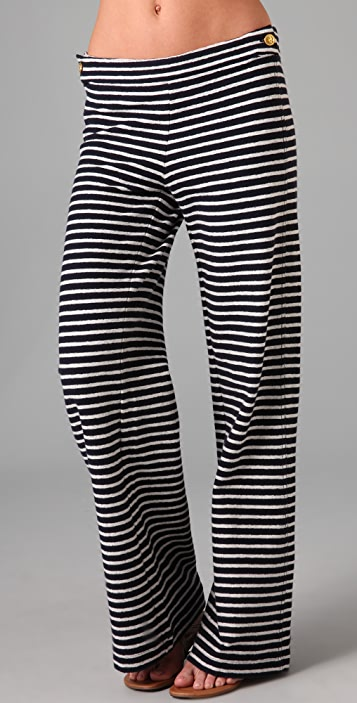 Tory Burch Beckwith Striped Pants