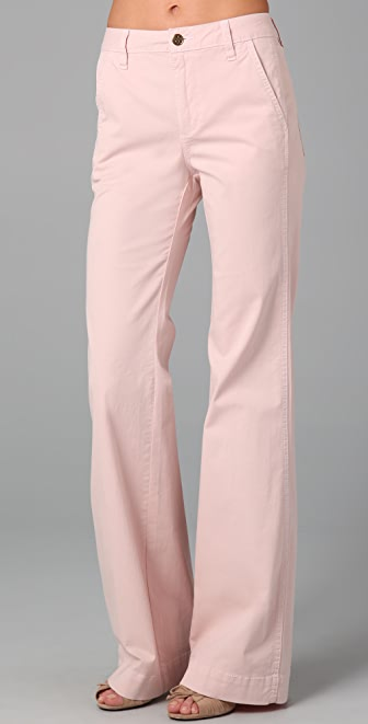Tory Burch High Rise Flare Pants