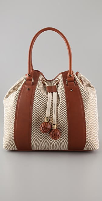 Tory Burch Gwendolyn Patterned Tote