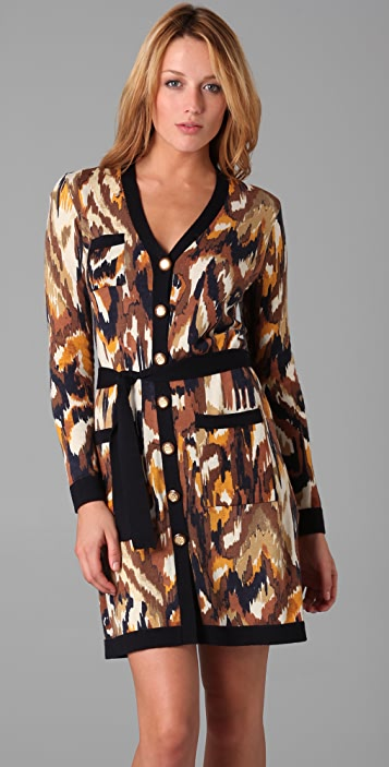 Tory Burch Edie Belted Sweater Dress