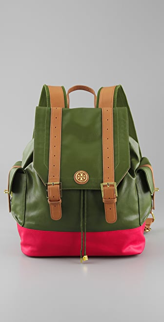 Tory Burch Pierson Canvas Backpack