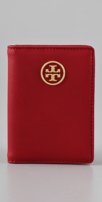 Tory Burch Saffiano Robinson Transit Pass Holder