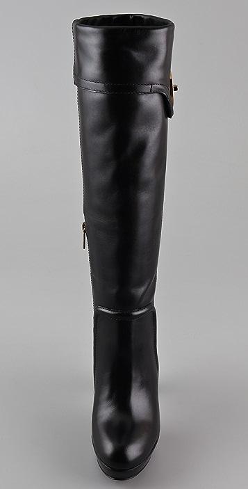 Tory Burch Selma Platform Boots