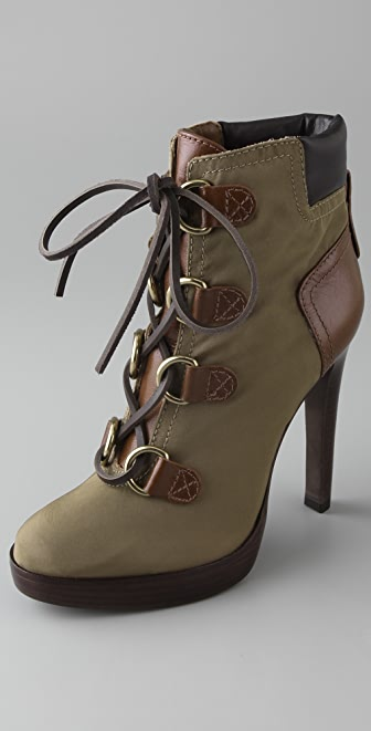 Tory Burch Lawson High Heel Booties
