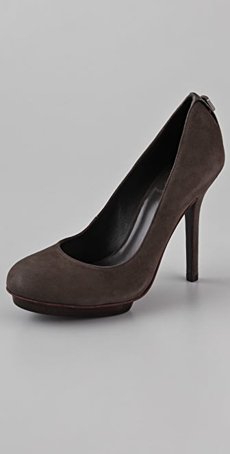 Tory Burch Mandy Suede Platform Pumps