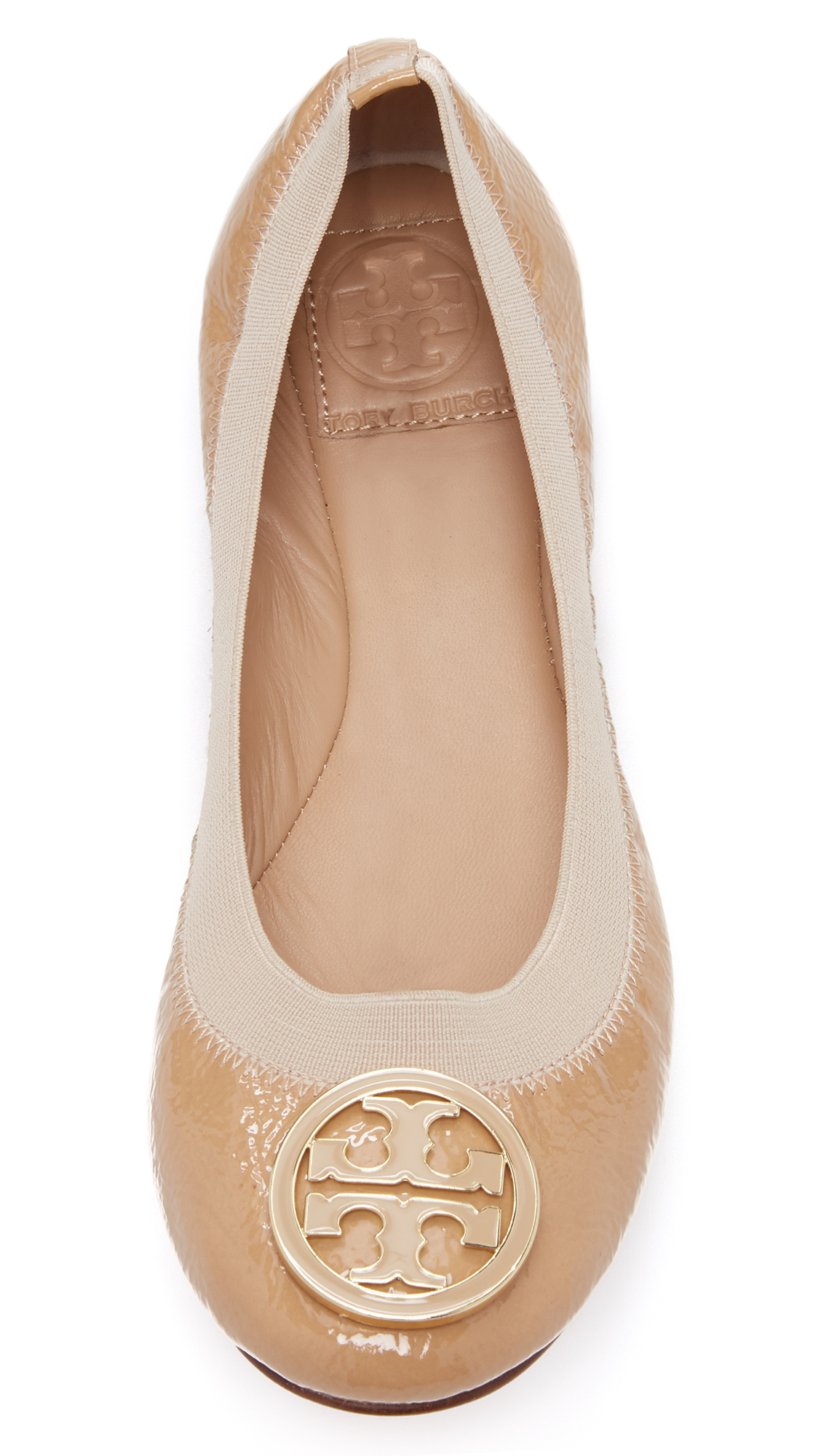 2dd17b712b64 Tory Burch Caroline Patent Ballet Flat