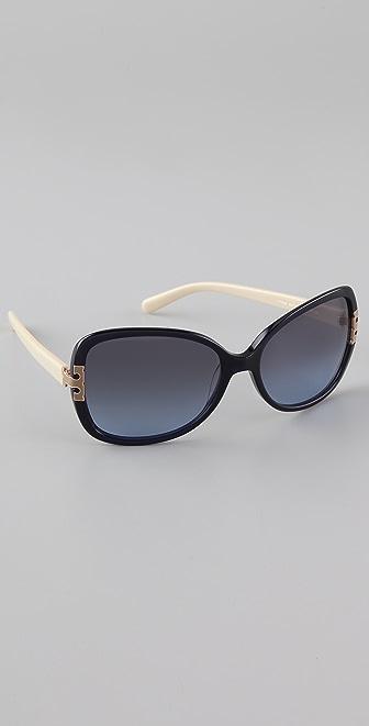 Tory Burch T Logo Sunglasses