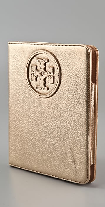 Tory Burch Stacked Logo E-Tablet Case