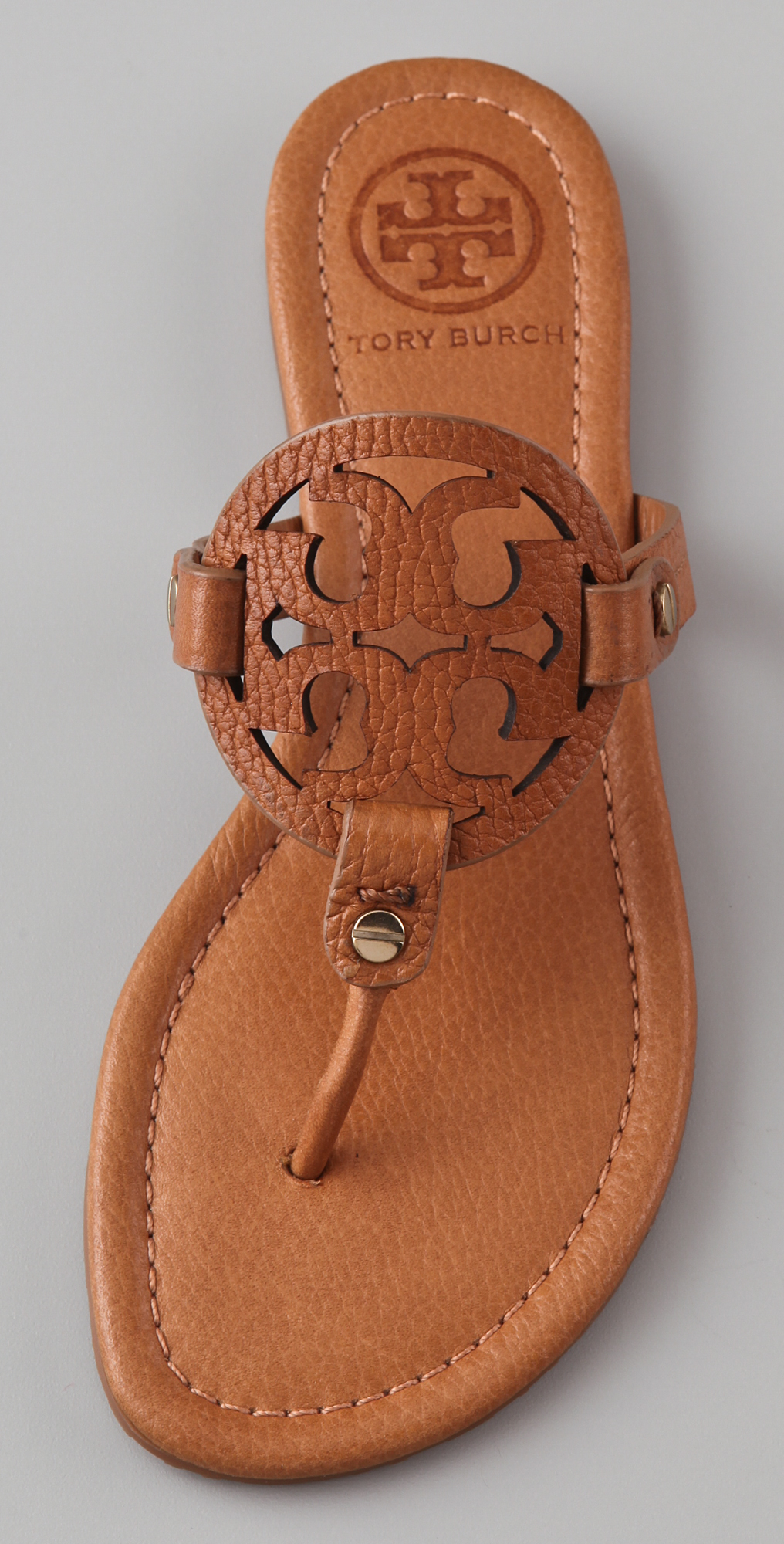 07511777b17607 Tory Burch Miller Flat Thong Sandals