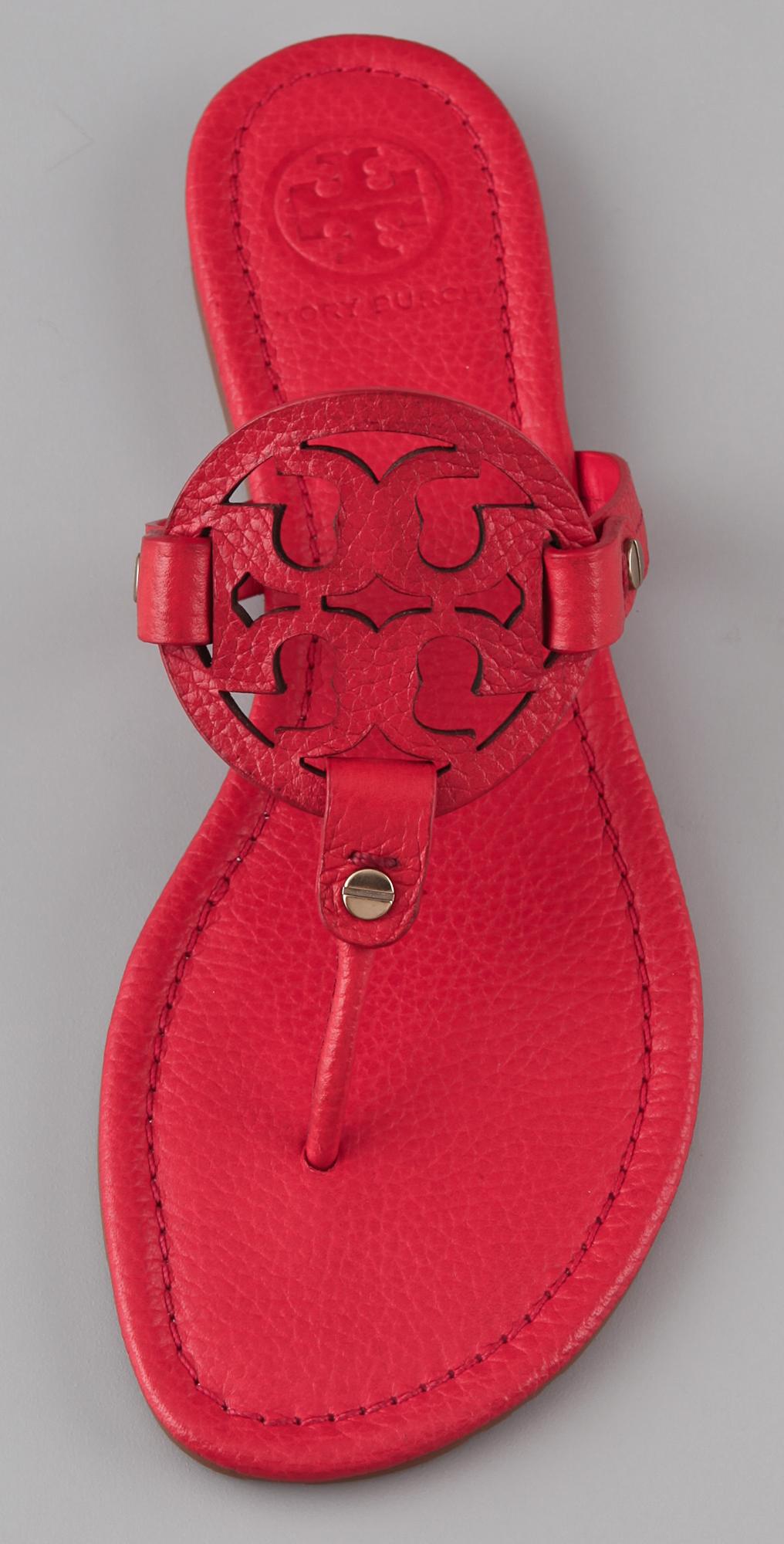 303f655c41a5 Tory Burch Miller Flat Thong Sandals