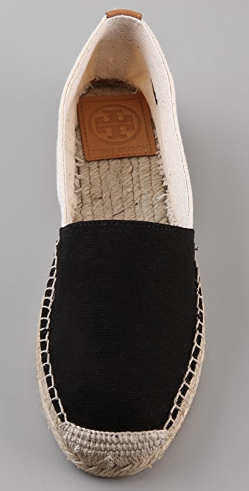 Tory Burch Two Tone Espadrilles