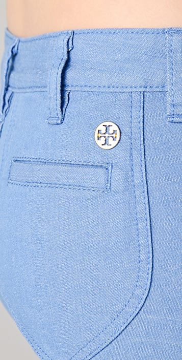 Tory Burch Leigh Flare Jeans