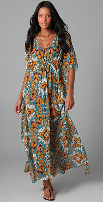 Tory Burch Terrero Long Caftan