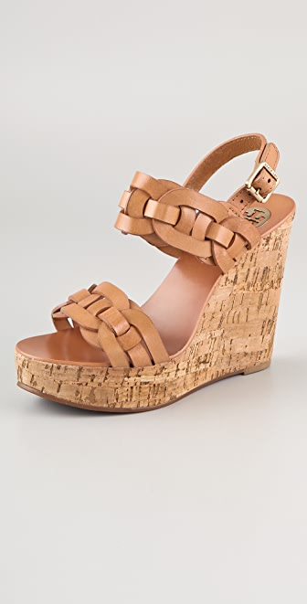 Tory Burch Calyca Wedge Sandals
