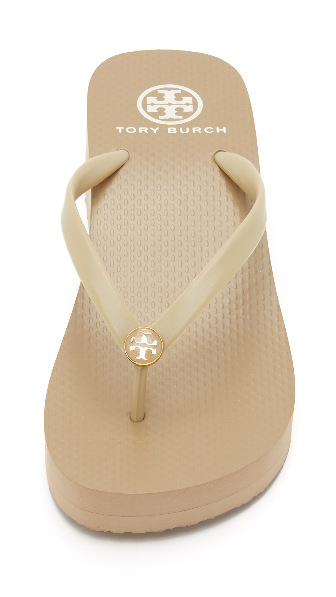 13d0c7975 Tory Burch Cutout Wedge Flip Flops